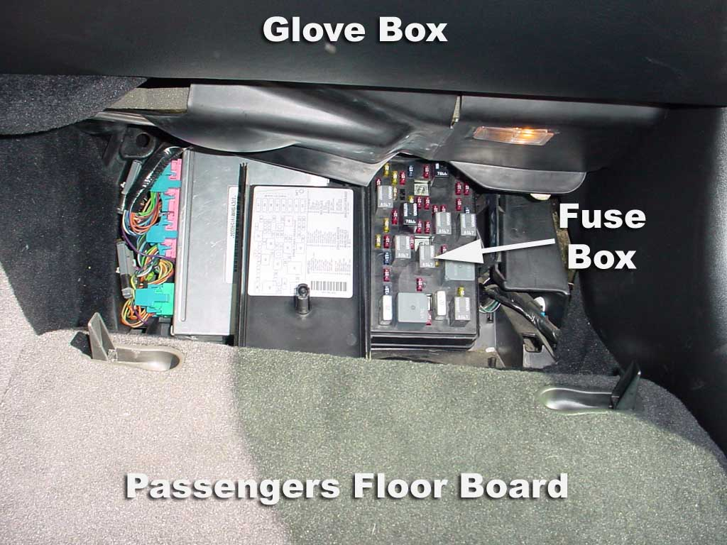 Fusebox on c5 corvette fuse box diagram