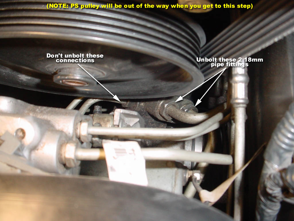 Is There Some Trick To Removing The Power Steering Lines Corvette Fuel Filter Location
