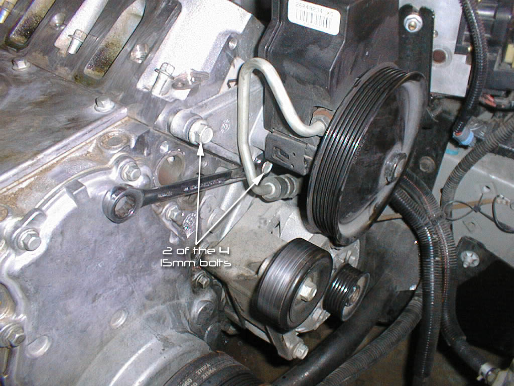 Power steering pump removal/install guide? - LS1TECH