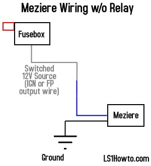 _no_relay_diagram ls1howto com water pump wiring diagram for 2006 bmw 325i at crackthecode.co