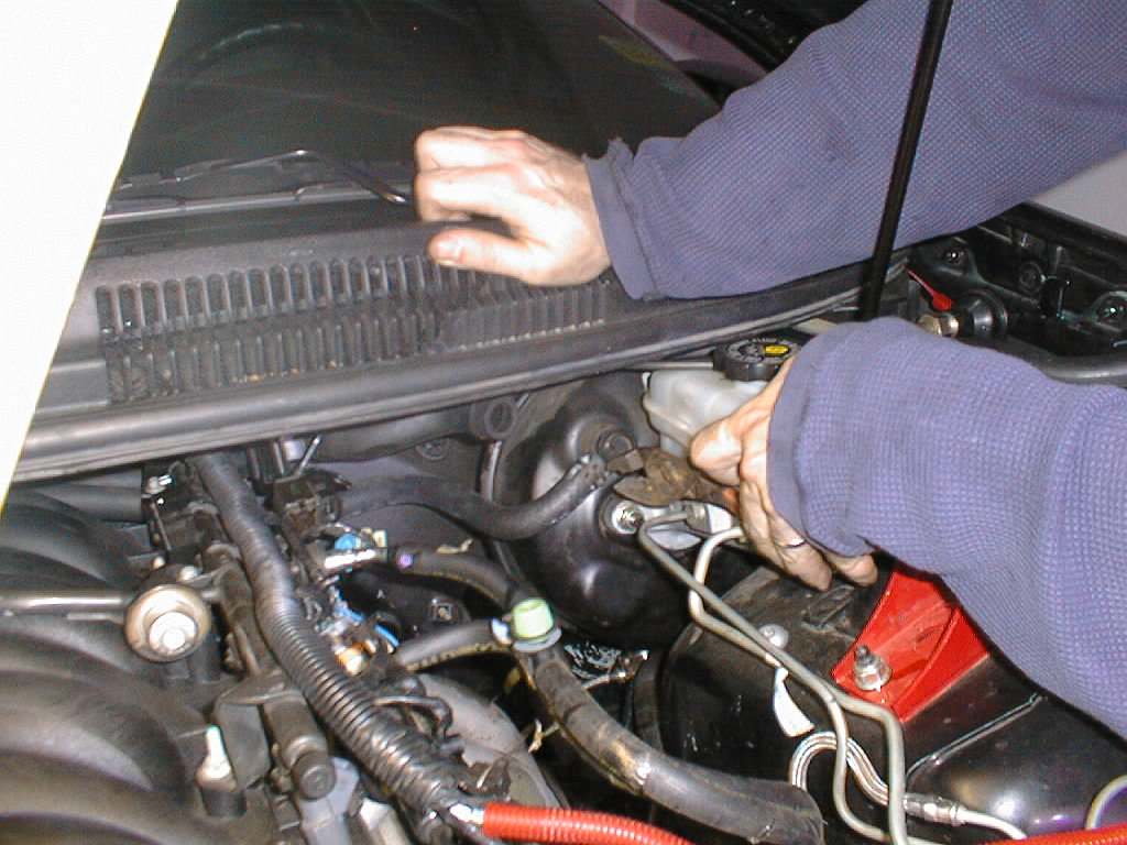 Stop Light Wiring Diagram Isuzu Next Remove The End Of Black Rubber Vacuum Hose That Goes To Brake Booster On Drivers Side Firewall Shown In Picture An F Body
