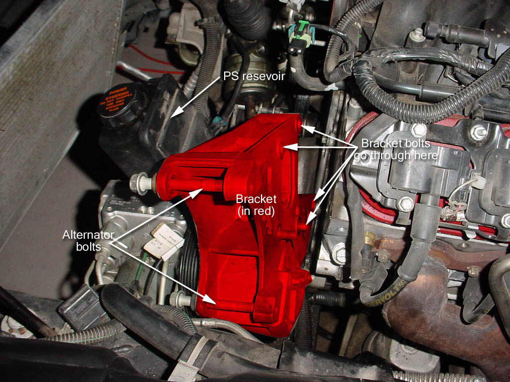 Connect The Power Steering Cooler Hose To Pump With Ps Line Unbolted And 2 Lines Gearbox Undone Were Now Ready Unbolt Our Powersteering Bracket Remove