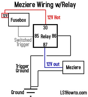 12v 30   Relay Wiring Diagram on wiring diagram for driving lights